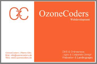 OzoneCoders - der Webdesigner für Ihr Projekt